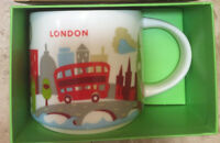 Discount! Starbucks London Mug YAH Britain You Are Here England New in Box w/SKU