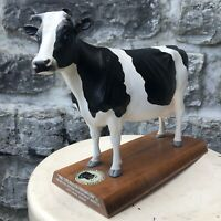 VTG Holstein-Friesian Cow Model DisplayMasters Dairy Ice Cream Advertising Sign