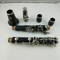 Excellence C Key Clarinet With Case Ebonite Nickel plating