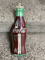 coca cola thermometer vintage Donasco Made In Usa WORKS Ships Fast Today