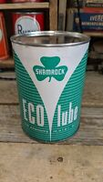 Shamrock Eco Lube Oil Metal Can NOS