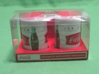 Coca Cola Salt and Pepper Shakers New in Box Gibson