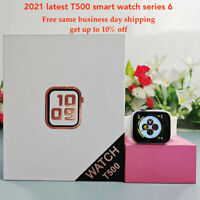 2021 Latest Smart Watch T500 series 6 BT call blood pressure heart rate $21.88