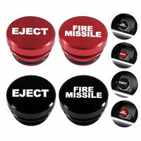 Universal Fire Missile Eject Button Car Cigarette Lighter Cover 12V Accessories $4.82