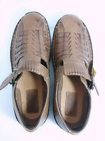 Duck Head Atlantic Luggage 10M Mens Leather Buckle Strap Casual Shoes