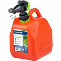 Scepter Smart Control Gasoline Fuel Can 2 Gallon Red Model# FR1G201 $22.99