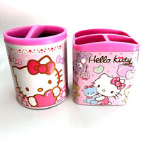 Sanrio Hello Kitty Desk Table Pencil Stationary Holder Cup 2PCS