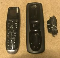 LOGITECH HARMONY ONE R IY17 WITH CHARGING BASE L LW20 AND POWER CORD $45.00