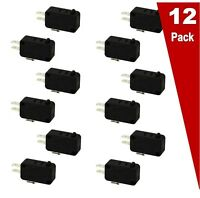 12 Pack EXP490 Microwave Universal Door Switch 16 Amp 3 Wire $23.85