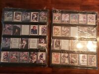 2 UNIVERSAL 20 SPORTS CARD WALL DISPLAY CASE FRAMES WITH 40 CARD HOLDERS 20quot;X16quot;