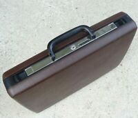Vintage Samsonite Signat Hard Shell Office Business Brief Case Preowned