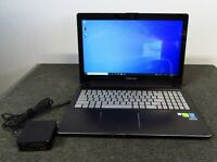 ASUS Q551L 15.6quot; 2 in 1 Touch Laptop i7 4510U @2GHz 8GB RAM 1TB HDD WIN10 WORKS $224.99