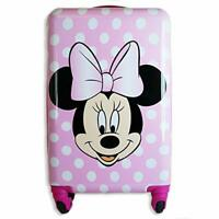 Minnie Mouse 20 Inches Kids Luggage Hardside Tween Spinner Carry On Rolling S...