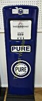 NEW PURE GAS PUMP FRONT DOOR DISPLAY OIL REPLICA - FREE SHIPPING*