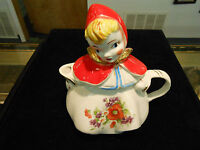 VINTAGE HULL LITTLE RED RIDING HOOD TEA POT