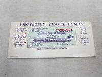 INK BLOTTER ADVERTISING TRAVEL FUNDS AMERICAN EXPRESS