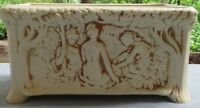 VINTAGE & Rare Weller Ivory Nudes In Forest Window Box