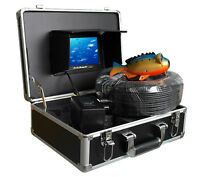 IP68  Under Water Fishing Camera 7Inch LCD Monitor Video Color Fish Finder 100m