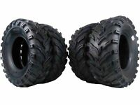 New MASSFX MS ATV Tires (2) 26x9-12 Front (2) 26x11-12 Rear Tire Set (4) 6 Ply