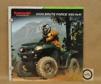 2006 Kawasaki Utility ATV Brute Force 650 4x4i Features Specifications Brochure