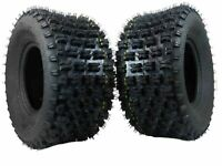 New HONDA TRX 250R 1986-1989 MASSFX ATV Sports Rear Tires 20x10-9 20x10x9