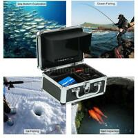 Fish Finder Underwater Camera 7'' LCD Monitor for Ice/Sea/River Fishing US
