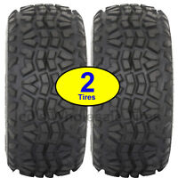 2) 23x11.00-10 23x11-10 23/11-10 8ply ATV TIRE OE Mule replaces dunlop KT869