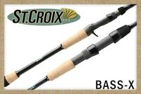St. Croix Bass X Spinning  Rod - All Models
