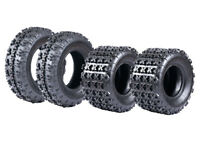 Set of 4 Roadguider XC ATV UTV all-terrain Tires  21X7-10 & 22X11-9, 6Ply Rated