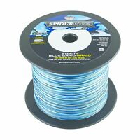 Spiderwire SS20BC-1500 20Lb Stealth Braided Line Blue Camo 1500yds Blue