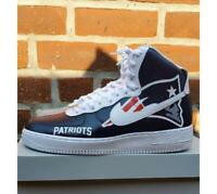 Air Force 1 Custom New England Patriots Af1 Sneakers Red Blue   White All  Sizes d4ac6cebe