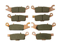 Front & Rear Severe Duty Brake Pads Yamaha Grizzly 700 4x4 & Grizzly 550 4x4
