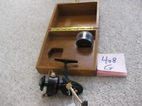 VINTAGE  MITCHELL GARCIA 408 G  W/BOX & SPOOL !!!! NEW AND UNFISHED............