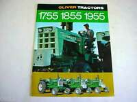 White Oliver 1755, 1855, 1955 Tractor Sales Brochure