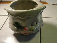 McCoy authentic cat, kitty face bowl, old