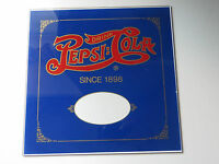 Drink Pepsi-Cola since1898 vtg reverse on glass advertising display antique sign