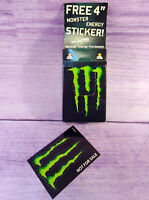 Authentic Monster Energy Drink Stickers Decals New Pack of 100 with Dispenser