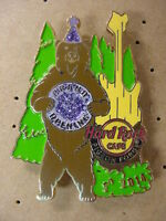 HARD ROCK CAFE*PIGEON FORGE,TN*GRAND OPENING*BEAR PIN* NICE*BRAND NEW