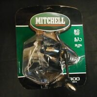Mitchell 300-C Spinning Fishing Reel 5.1 Ratio 8 Bearing System 10-14LB Line