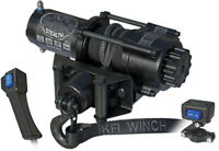 KFI Stealth 3500 LB ATV UTV SXS Winch With Synthetic Rope SE35