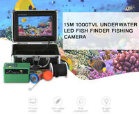 1000TVL Underwater 30 LED Fish Finder Fishing Camera 7''Color Video Monitor IP68