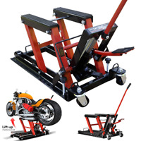 VIVOHOME Motorcycle ATV Jack Lift Stand Hydraulic Bike Auto Hoist Repair 1500 Lb