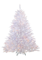 The White Alpine Pre-Lit 132 Clear LED's Artificial Christmas Tree - 4.5'