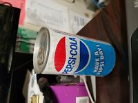 Vintage Pepsi Soda Can Water Filled 1977 Unopened Collectible Rare! Pull Tab
