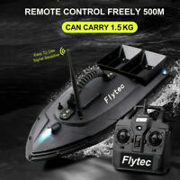NEW Fish Finder 1.5kg Loading 500m Remote Control Fishing Bait Boat RC Boat US