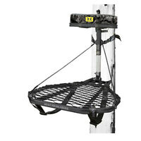 Hawk COMBAT Durable Steel Hang-On Hunting Treestand & Full-Body Safety Harness