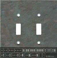 Vermont Mottled Slate Switch Plates, Wall Plates & Outlet Covers