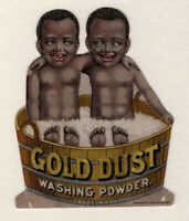 1880s Trade Card - Fairbanks Black American Gold Dust Twins  #3