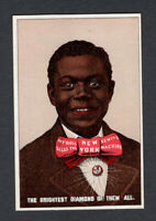 1880s Trade Card - Black American - Brightest Diamond - New York Sewing Machine