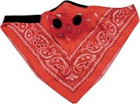 ATV-TEK ATV UTV Dust Mask Bandana Red BDMRED